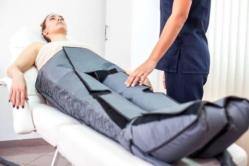 Presoterapia piernas cansadas hinchadas