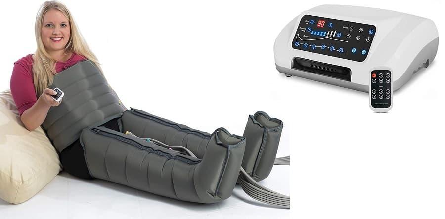 Maquina de presoterapia con 6 camaras de aire Vein Angel 6 Premium